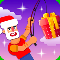 Christmas Fishing Game
