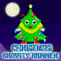 Christmas Gravity Runner Game