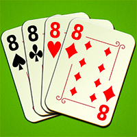 Crazy Eights Juego