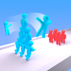 Crowd Stack Race 3D Jogo