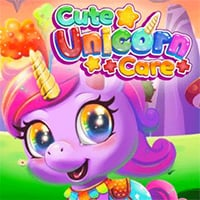 Cute Unicorn Care Game