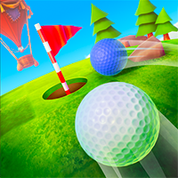 Desktop Mini Golf Game