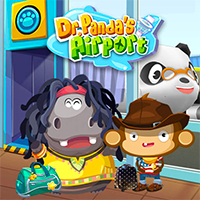 Dr. Panda Airport Game