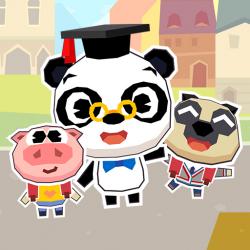 Dr Panda School Jogo