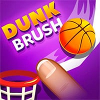 Dunk Brush Game