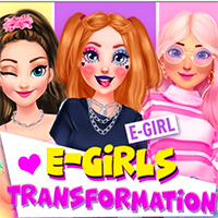 E-Girls Transformation Game