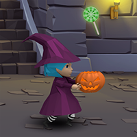 Halloween Catcher Game