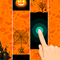 Halloween Magic Tiles Game