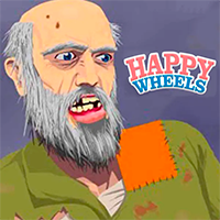 Happy Wheels Online Jogo