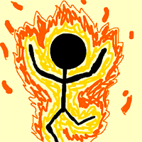 Light People on Fire Game