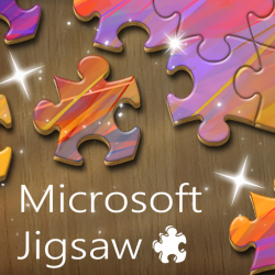 Microsoft Jigsaw Game