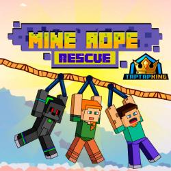 Mine Rope Rescue Game