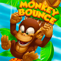 Monkey Bounce Game