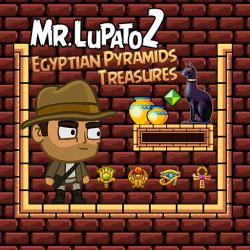 Mr. Lupato 2 Egyptian Pyramids Treasures Game