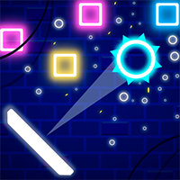 Neon Bricks Game