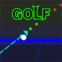 Neon Golf Game