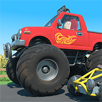 Oddbods Monster Truck Game