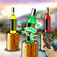 Pistol and Bottles Game