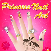 Princess Nail Art Game