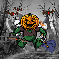 Pumpkin Monster Game