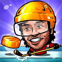 Puppet Hockey Game