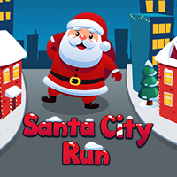 Santa City Run Game