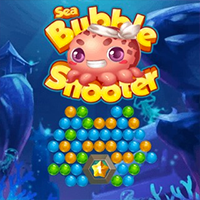 Sea Bubble Shooter Game