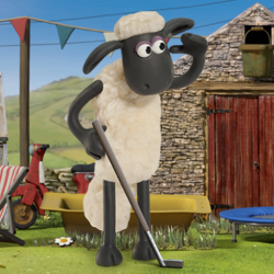 Shaun The Sheep Baahmy Golf Game