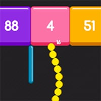 Snake and Blocks Game