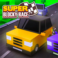 Super Blocky Race Game