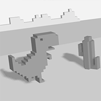 T-Rex Run 3D Game