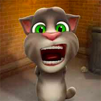 Talking Tom Funny Time Game
