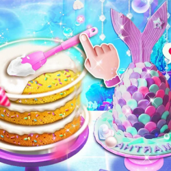 Unicorn Chef Design Cake Game